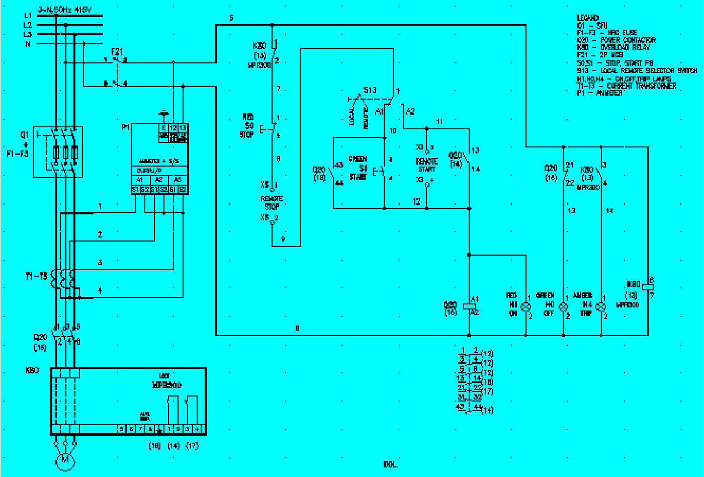Siemens Tec Wiring Diagram likewise Wiring Diagram Yamaha 703 Remote Control in addition Why Use Autocad Electrical further How To Wire 3 Phase Electric also Doolittle Trailer Wiring Diagram. on mcc panel wiring diagram